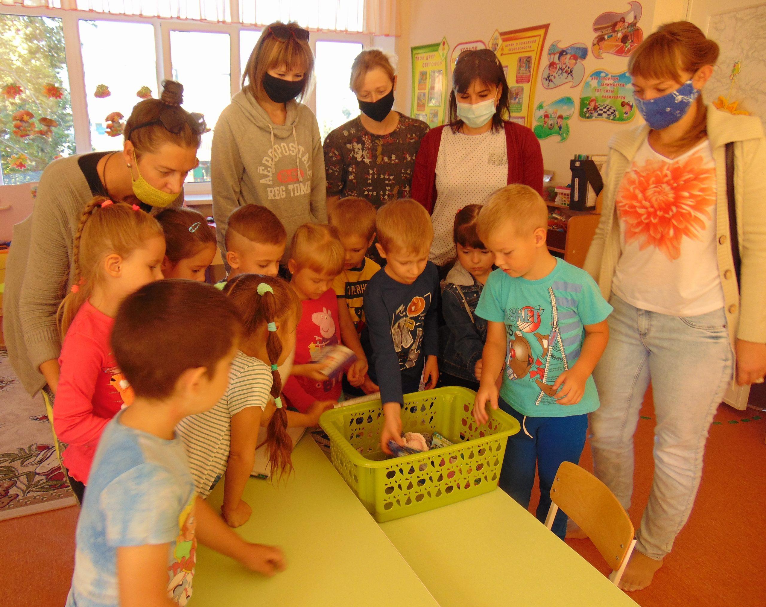 Поможем детям собраться в школу
